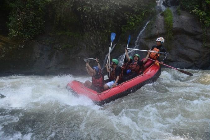 Rafting Rafting Di Sungai Cianten Crv Cianten River Village Bogor
