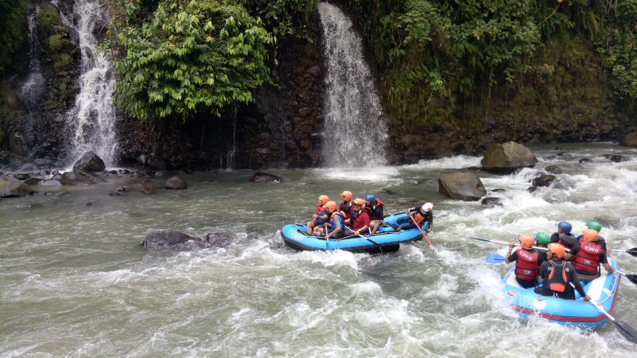 Start3 Rafting Di Sungai Cianten Crv Cianten River Village Bogor